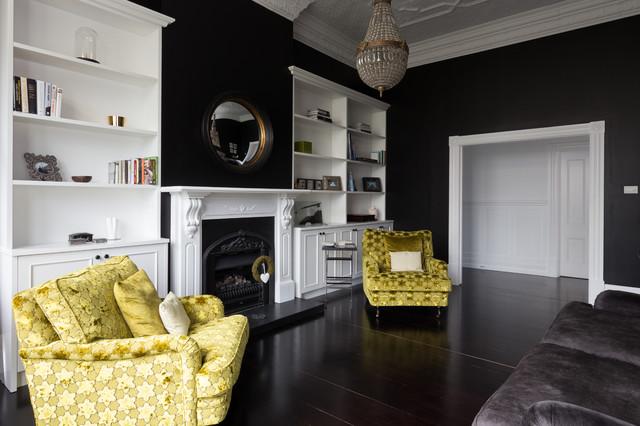 Http Www Houzz Com Photos 47605410 Award Winning Transitional Living Room Auckland