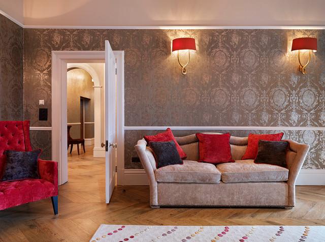 amazing award winning living room | Award Winning Victorian Renovation - Traditional - Living ...
