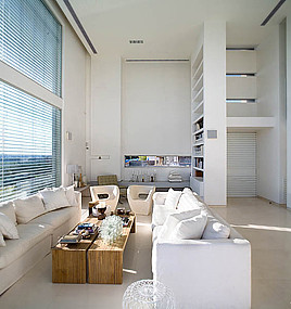 AXELROD ARCHITECTS modern-living-room