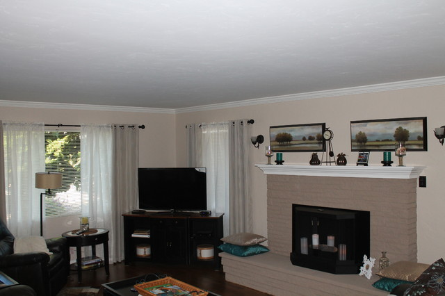 Azevedo Residence: Monterey Ca traditional-living-room