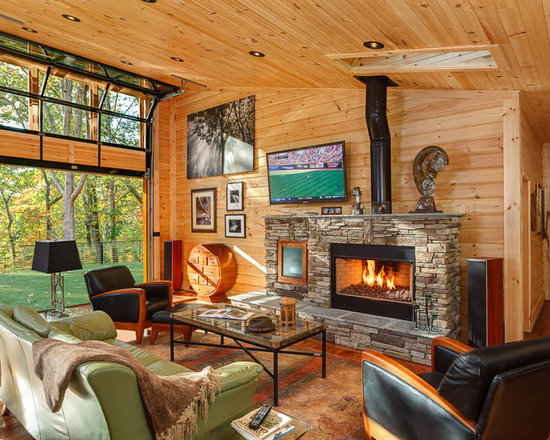 Knotty Pine Paneling Ideas Home Design Ideas, Pictures, Remodel and ...