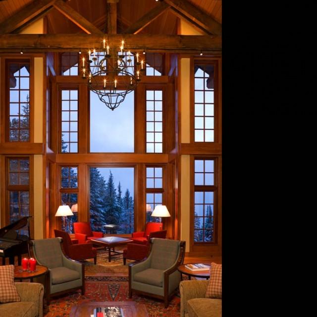 B + H traditional-living-room