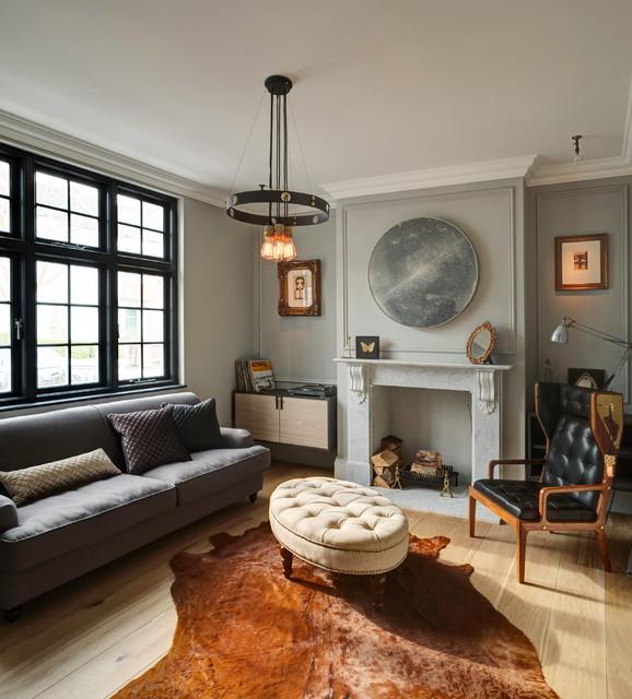 B p design lab 39 the mews house 39 contemporary living for Case classiche eleganti