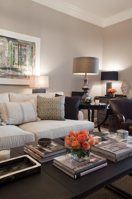 Bachelor Pad Contemporary Living Room Baltimore By Elizabeth Reich
