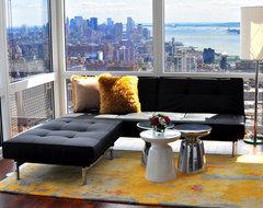 Bachelor Pad - Living Room contemporary-living-room