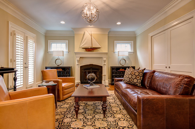 Leather Living Room Furniture | Houzz