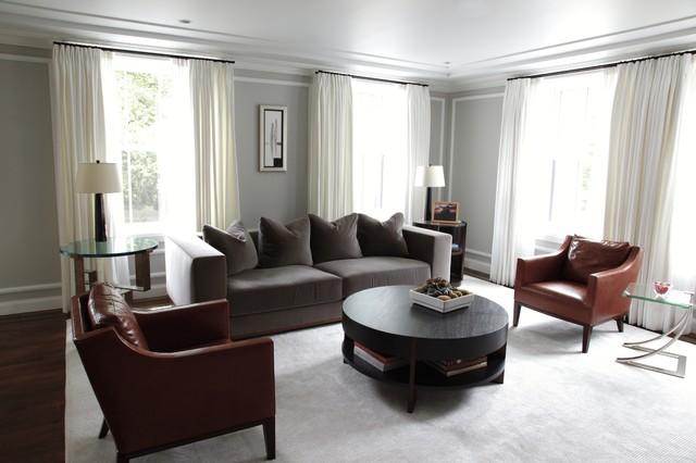 Back Bay Living Room contemporary-living-room