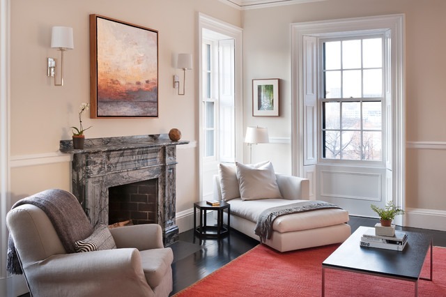 Back Bay Project - Contemporary - Living Room - Boston - by ...