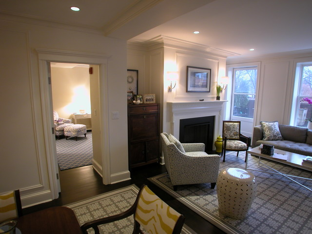 Back Bay contemporary-living-room