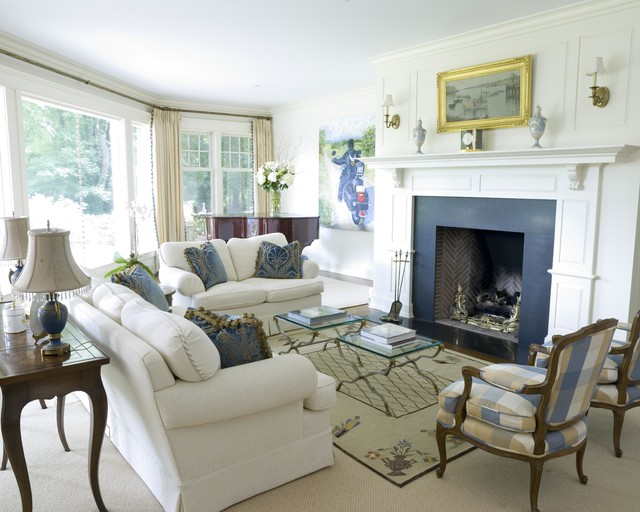 Backcountry Greenwich CT traditional-living-room