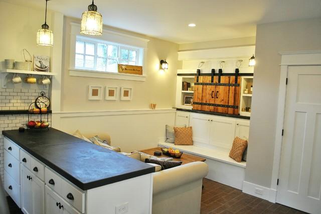 Backyard Cottage traditional-living-room
