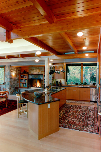 Bainbridge Island Residence - Bainbridge Island, WA « DAVID VANDERVORT ARCHITEC contemporary living room