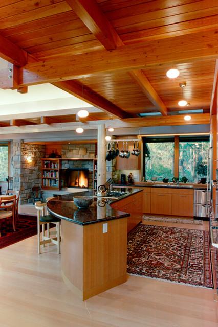 Bainbridge Island Residence - Bainbridge Island, WA « DAVID VANDERVORT ARCHITEC contemporary-living-room