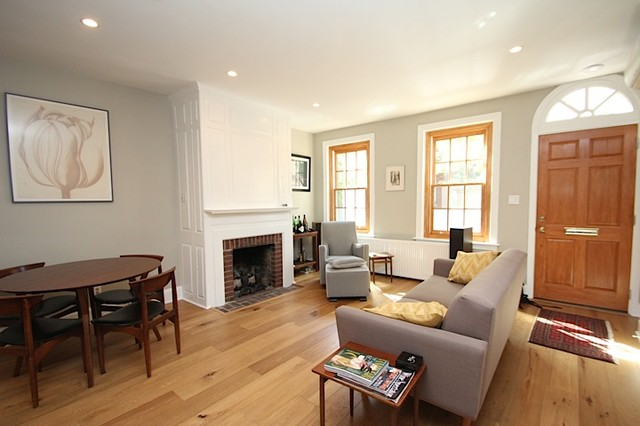 Bainbridge Street Rowhome Full Renovation Traditional Living