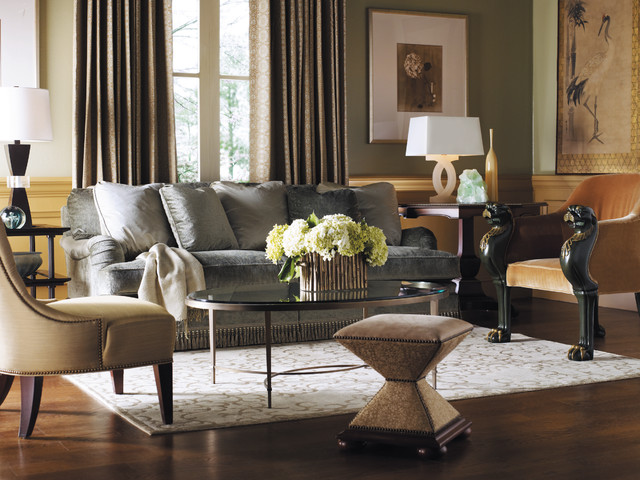 Bon Baker Furniture Living Room Contemporary Living Room