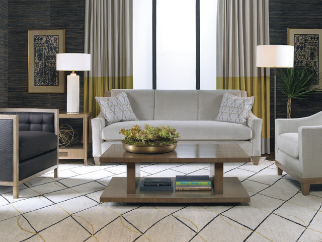 Baker Furniture Living Room Contemporary Living Room Other Metro By Baker Furniture