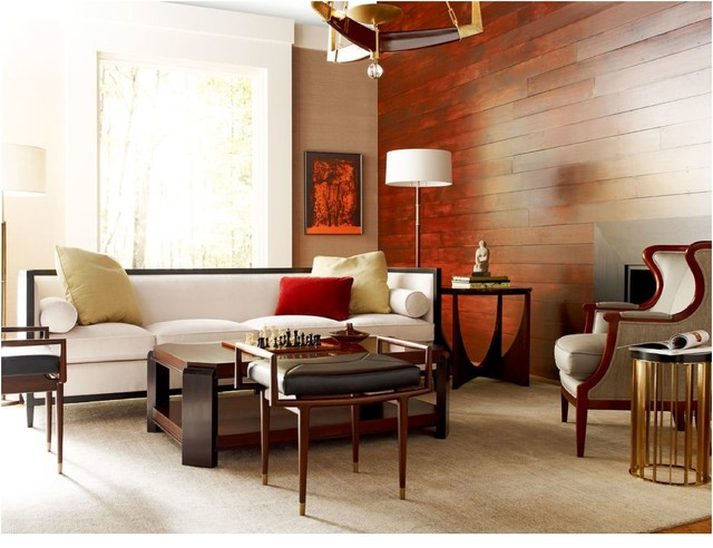 Interior Designers & Decorators. Baker's Lexicon Collection  contemporary-living-room