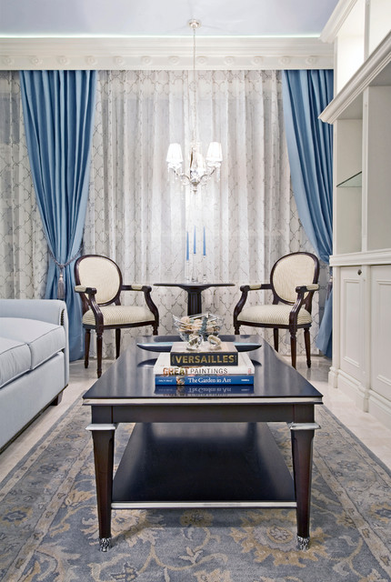 Bal Harbour traditional-living-room