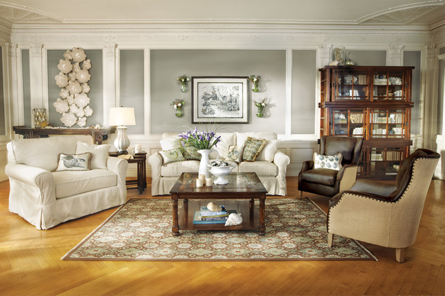 Baldwin Collection Traditional Living Room Cleveland