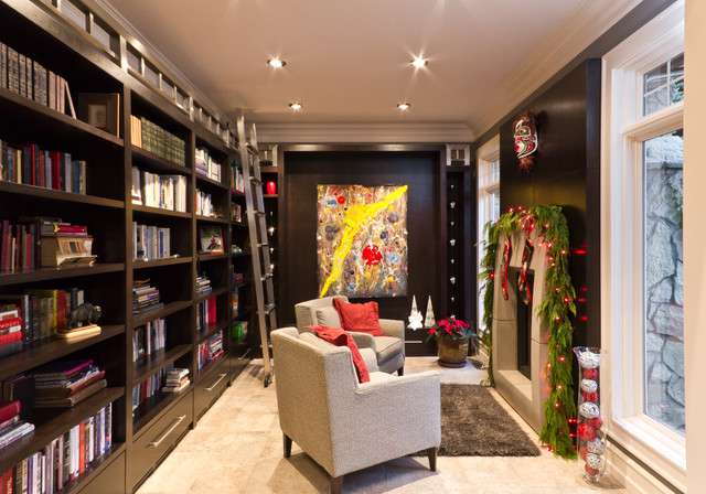 Ballet Kelowna Hot Holiday Homes! eclectic-living-room