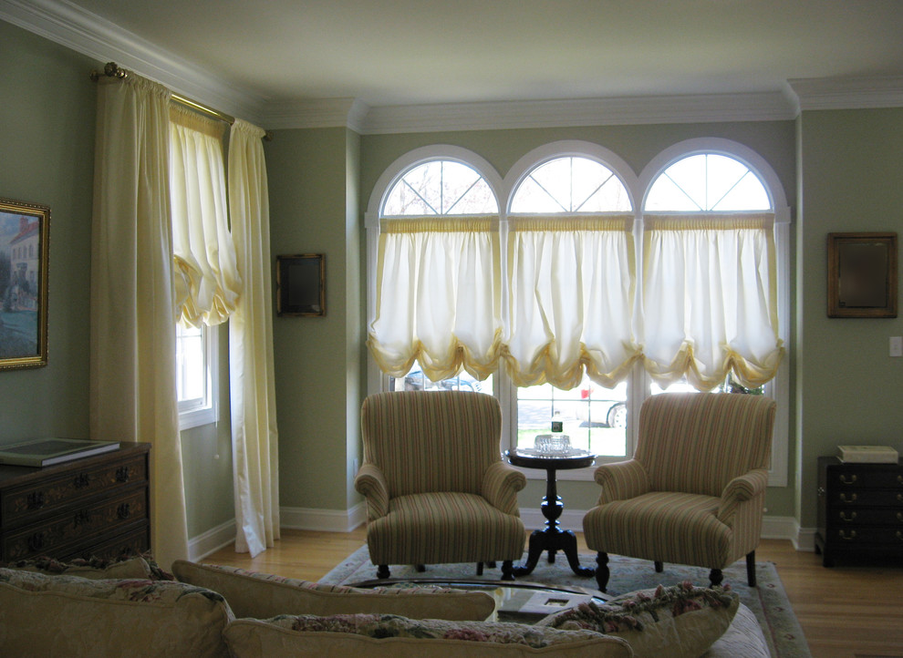 Balloon Shades For Arch Windows, Balloon Curtains For Living Room