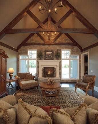 Balzac traditional-living-room