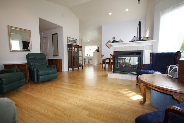 living room pictures with bamboo floor. strand woven bamboo