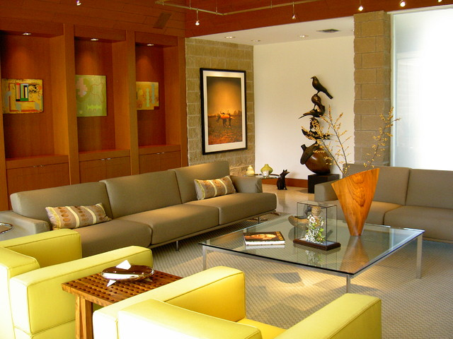 Banks Street Residence contemporary-living-room