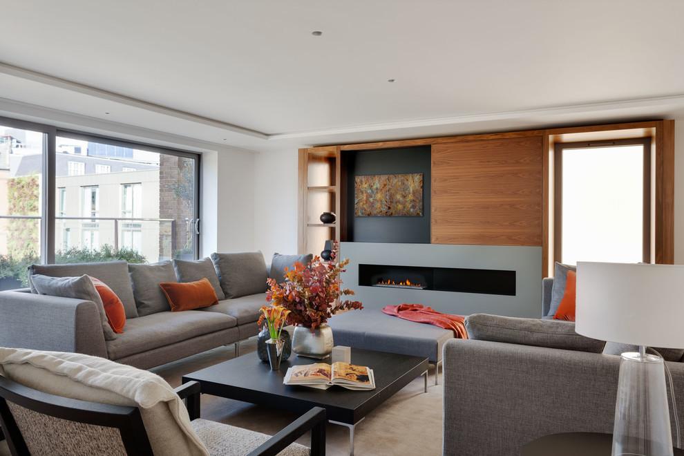客厅茶几现代风格装饰设计图片