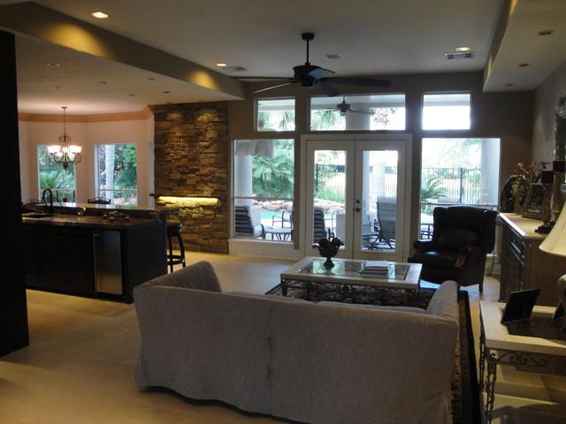 Bar   Living Design & Renovation eclectic-living-room