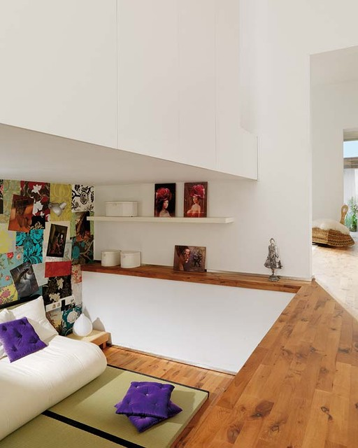 Barcelona Loft eclectic-living-room