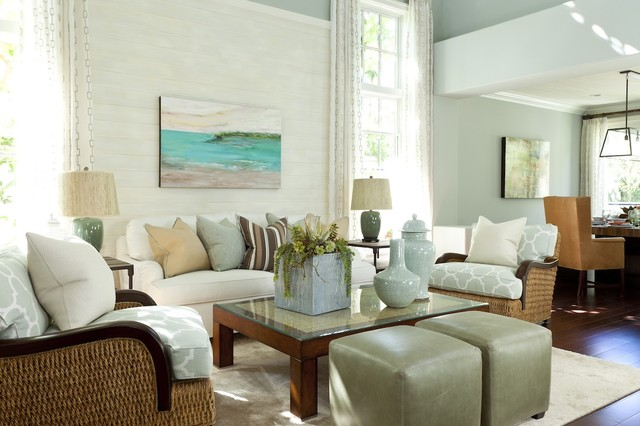 Barclay Butera Living on the Coast traditional-living-room