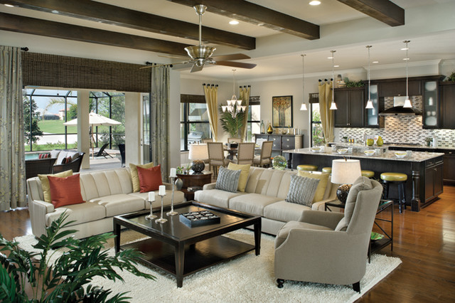 Bardmoor 1172 - Traditional - Living Room - tampa - by Arthur Rutenberg Homes