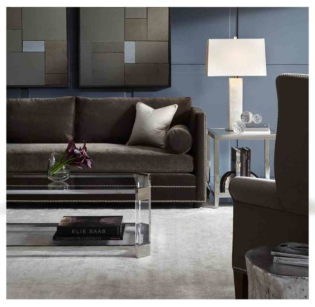 Bardot Sofa Melrose Accent Tables Modern Living Room By Mitchell