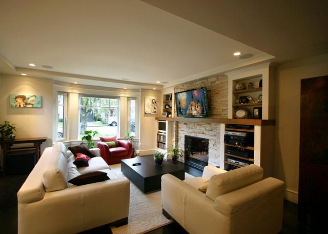 Barjaktarovic Residence contemporary-living-room