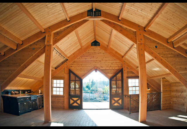 Barn Loft Living Area