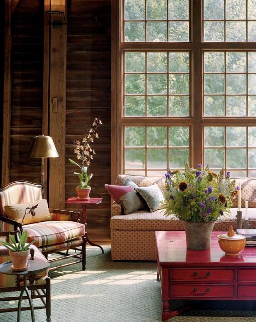 Barn Renovation - living room rustic-living-room