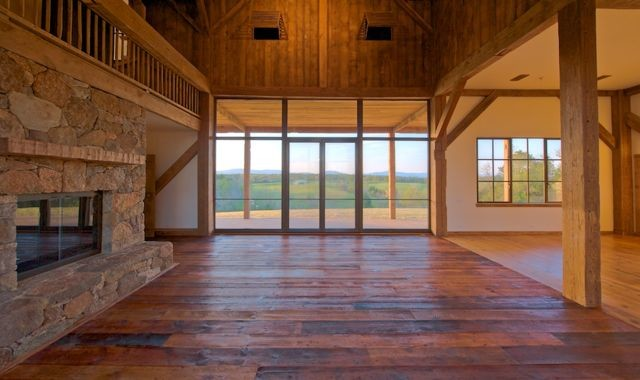 Barn Restoration Rustic Living Room Other By