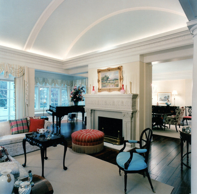 Vaulted Ceiling Trim Ideas