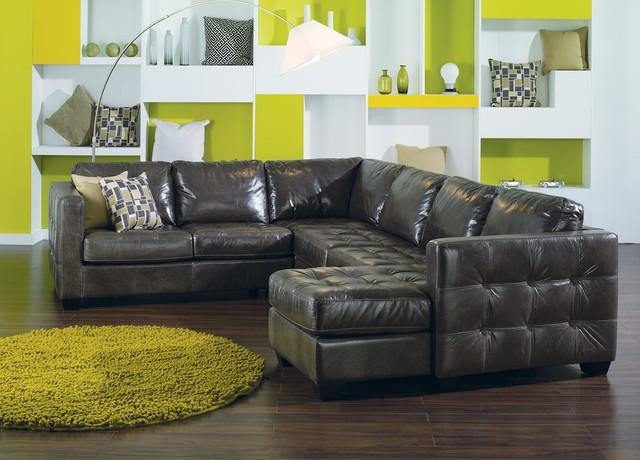 Wondrous Barrett Leather Sectional By Palliser Austin Tx Houston Uwap Interior Chair Design Uwaporg