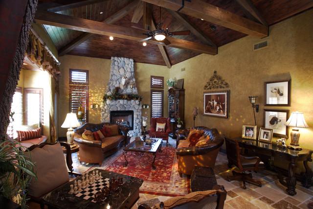 Barrington rustic-living-room