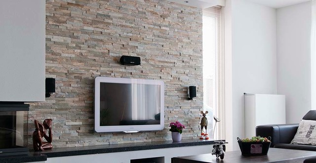 Barroco stone panels wall decoration modern living Decorative wall tiles for living room