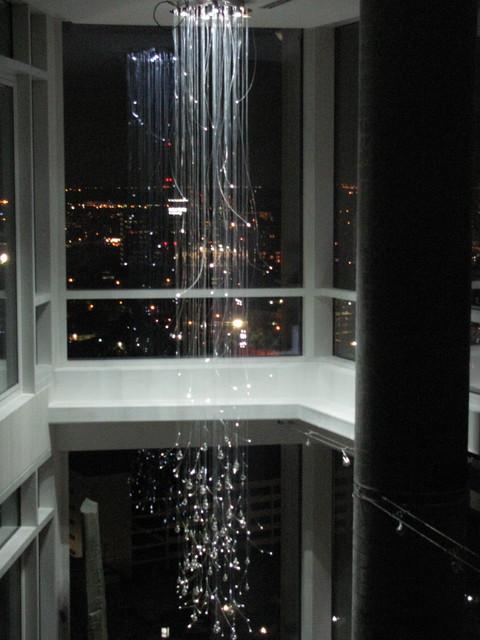Barron rain chandelier barron rain chandelier contemporary living room aloadofball Choice Image