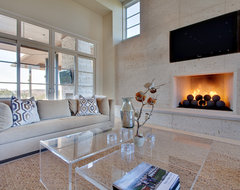 Barton Creek Residence contemporary living room
