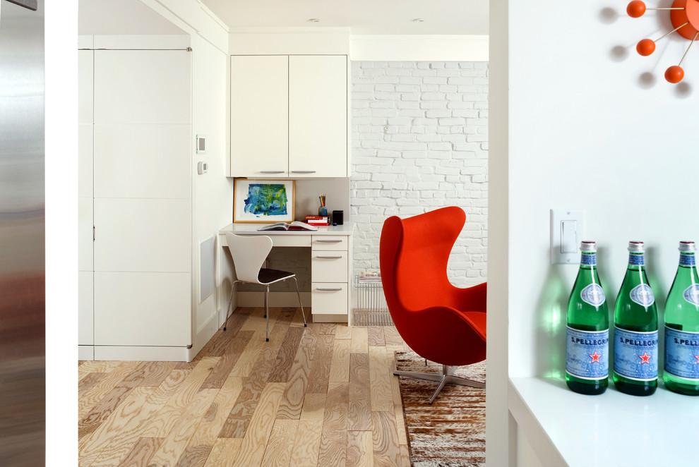 Living room - contemporary living room idea in DC Metro