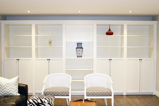 Basement Living Room contemporary-living-room