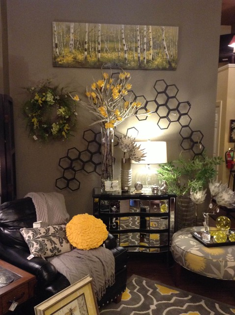 Basket of Daisies Showroom  Cedar Falls, IA transitionallivingroom