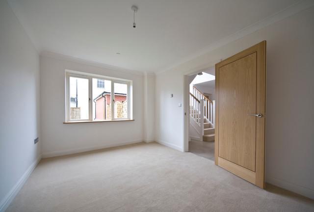Bath Lodge, Worcester, England contemporary-living-room