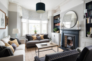 Battersea Home Victorian Living Room London By Tom St Aubyn Photography Ltd