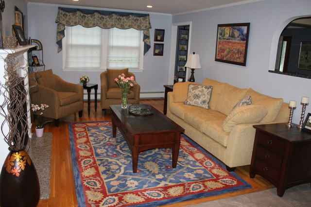 bauer residence in nashua nh traditional living room